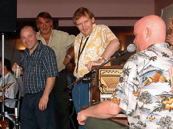 Paul Munnery, Rico Tomasso, John & Jeff Barnhart