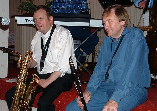 with Alan Barnes