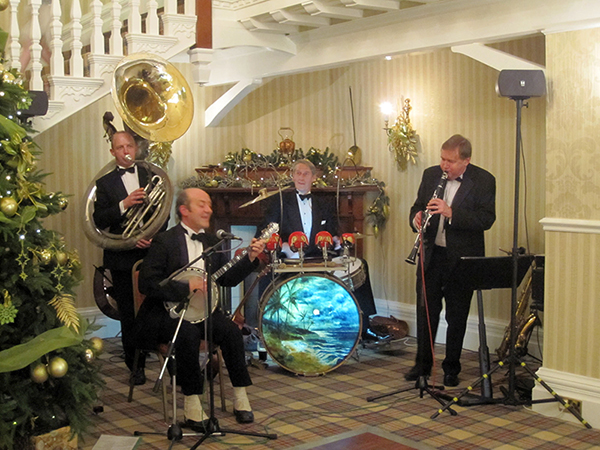 Spats Langham Christmas at The Burnside 2013