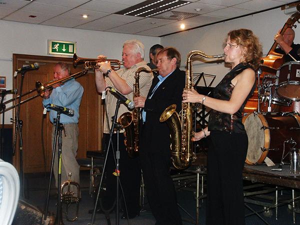 Roy Williams, Bruce Adams, John, Karen Sharp