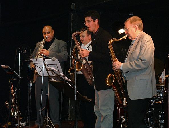 with Zoltan Sagi, Alan Barnes, Matthias Seuffert